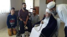 15 Temmuz darbe girişimi mağduru Mustafa Uygun Sultanımızdan dua istediler