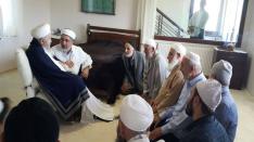 Efendi Hazretlerimizin akraba ve yakınları ziyaret ettiler.