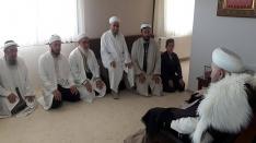 Hizmet Vakfı Başkanı Celal Erzincanlıoğlu beyfendiden ziyaret...