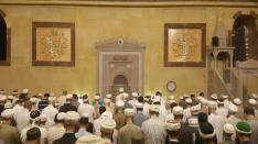 Müceddid Mahmud Efendi Camii Şerifinde teravih namazı