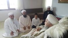 Mustafa Ekin Hocaefendi`den Umre dönüşü ziyareti