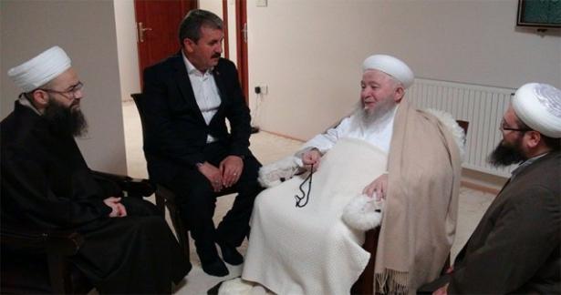 Cübbeli Ahmet Hoca Efendi ve BBP'den Ziyaret