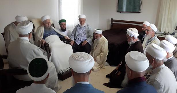 Efendi Hazretlerimizin heyeti Hasan Efendi riyasetinde ziyaret