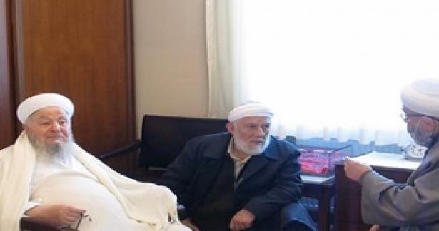 İsmail Ağa Camii Şerifi Hocalarından Ziyaret