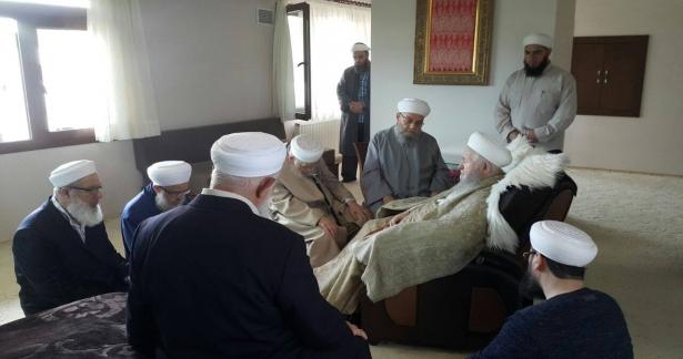 İsmailağa Camii heyeti ve İsmailağa İlim ve Hizmet Vakfı Başkanı Ziyareti