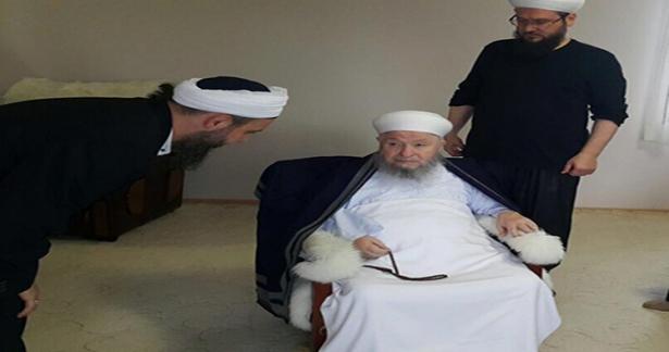İsmailağa Vakfı başkanı Celal Erzincanlıoğlu ve Ahmet Kozlu hocaefendi