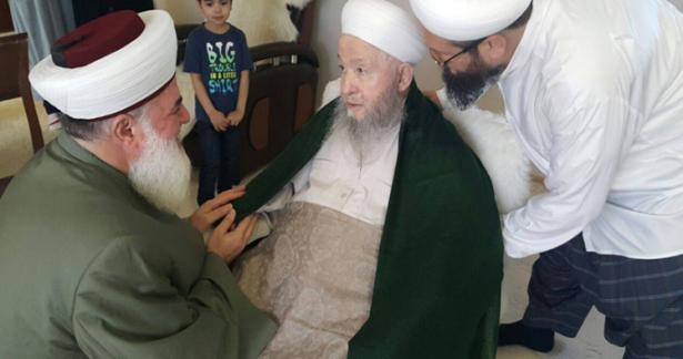 Lübnan Akkar Müftüsü Efendi Hazretlerini ziyaret etti.