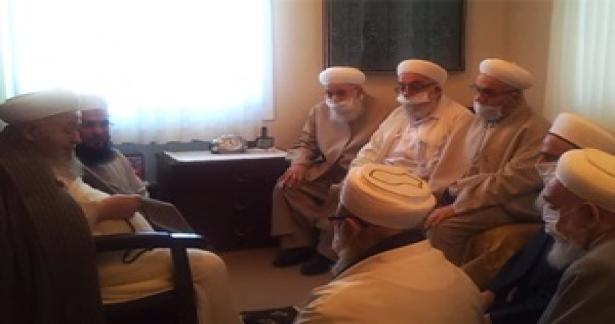 Mahmud Efendi Hazretlerine İsmailağa Camii Şerifi Hocalarından Taziye Ziyareti