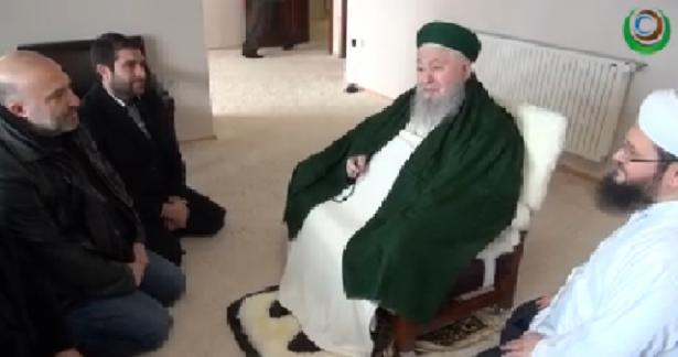 Orhan Osmanoğlu Efendi Hazretlerimiz'i ziyaret ettiler