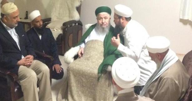 Pakistan Adalet Bakanı Yardımcısı Zaferullah Han ziyareti