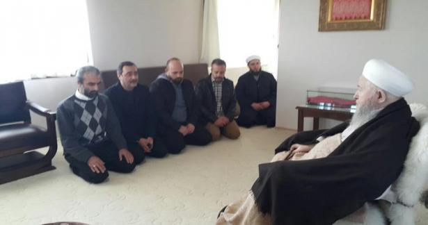 Salih Mirzabeyoğlunun arkadaşları, Adımlar Dergisi yayın kurulu Ziyareti