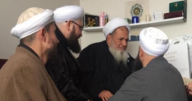 Türkiyeye dönüş yapan Seyyid İbrahim el-Ahsai Hazretleri