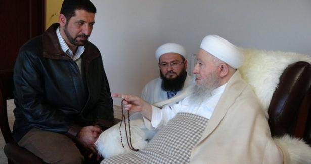Ürdün Eski Din İşleri ve Evkaf Bakanından ziyaret